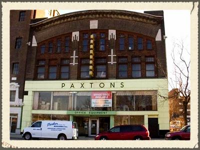 Paxton's Office Spaces in downtown Bloomington
